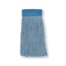 Continental Go Go Blue Narrow Band Cut-End Mop, 24 Ounce -- 12 per case. by Continental Manufacturing