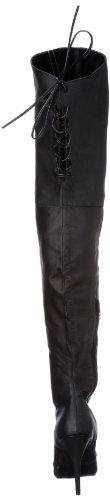 Pleaser Women's Legend P 8899 Boot Leather Black SH8Sgvrxwq