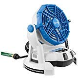 Artic Cove Bucket Top Misting Fan works with Rechargeable 18-Volt Lithium-ion Battery