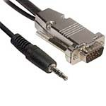 C2G/Cables to Go 40686 Plenum-Rated HD15 M/F UXGA Extension Cable (15 Feet, Black) ()