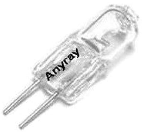 Anyray 35 Watt Jc Bi Pin 35w 12v G5 3 Base T3 Halogen Bulb Amazon Com