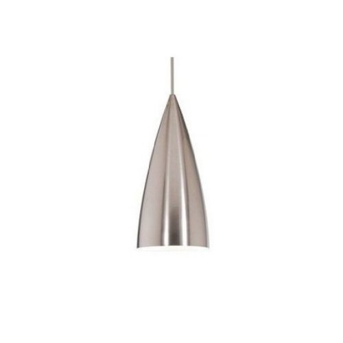 WAC Lighting QPLED966BNBN Industrial Quick Connect Pendant with Socket Set Finish, Brushed Nickel (Socket Quick Connect Pendant)