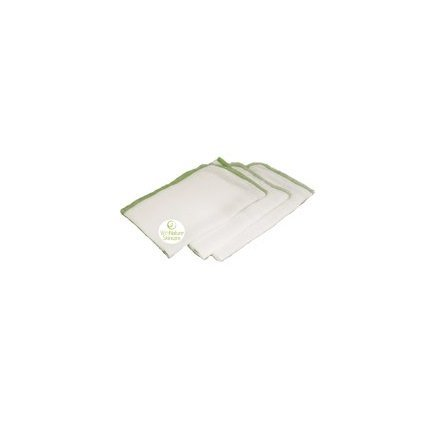 (Pack of 3) Pure & Gentle Muslin Face Cloths by WithNature Skincare
