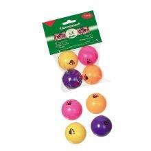 Karlie Spielbälle für Katzen ø: 40 mm farblich sortiert Pingpong Bälle
