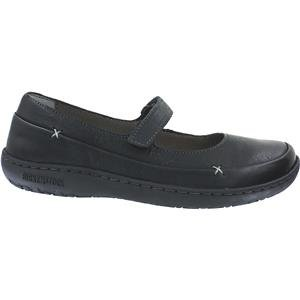 Birkenstock Unisex Iona Flat (36 M EU, Black Leather)