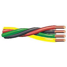 (100 ft 12/3 w/G Submersible Well Pump Wire Cable)