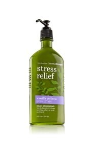 Aromatherapy Verbena - Bath & Body Works Aromatherapy Stress Relief Vanilla Verbena Body Lotion
