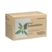 SIDROGA Salbeiblaetter Filterbtl., 20 St