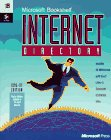 Microsoft Bookshelf Internet Directory, 1996-1997 Edition, Microsoft Official Academic Course Staff, 1556159471