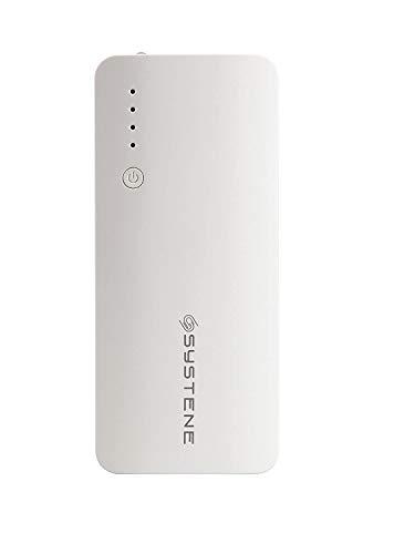 SYSTENE 11000mAh Powerbank for Redmi 5/Note 5/Note5Pro  White
