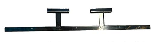 MHP Member Mark Sam's Club Gas Grill Three Burner Stainless Burner Support Bracket Rail 31.75