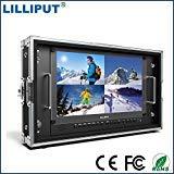 Lilliput 15.6'' 4k Broadcast Director Monitor 6U Rack Mount SDI Monitor BM150-4K High Resolution 3840 x 2160