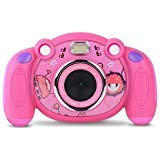 Campark Kids Camera HD Digital Children Camcorders 2 inch Screen with Flash, Mic, Non-Slip and Anti-Drop Design for Boys Girls Gifts