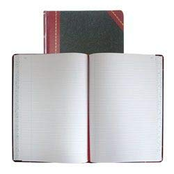 - National Brand Record Book, Black Ultima, 10.06 x 7.875 inches, 300 Pages (A21300R)