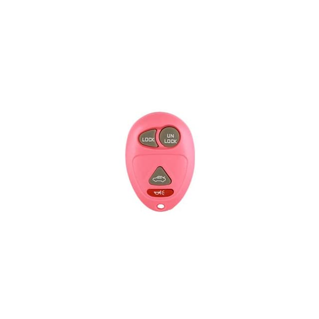 2001 2004 Buick Regal Pink Keyless Entry Remote W/ Free DIY Programming Instructions & World Wide Remotes Guide