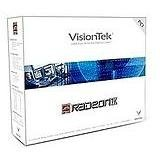 (Visiontek VTKRAD7K64P ATI RADEON 7000 64MB DDR PCI VGA DVI TV-OUT DUAL MONITOR)