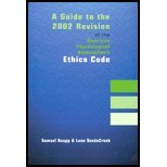 A Guide to the 2002 Revision of the American Psychological Association's Ethics Code, Knapp, Samuel and VandeCreek, Leon, 1568870795