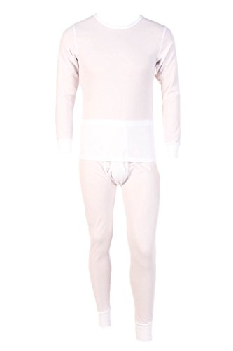 Men's Two Piece Long Johns Thermal Underwear (2 Piece Waffle Thermal Underwear)