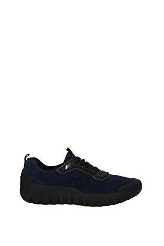 Prada Sneakers Uomo - Camoscio (4E3098) EU Blu