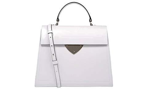 Bianco H10 A Grande E1d12180401 Coccinelle B14 Design Mano Liscio Borsa zSxngHwqR