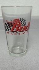 Watkins Glen Motor Speedway Pint Glass, Bud, Official Beer of Nascar Drinking Glass