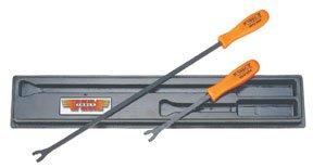 VIM Hand Tools V613 2 Pc. Long Reach Upholstery Clip Tool Set