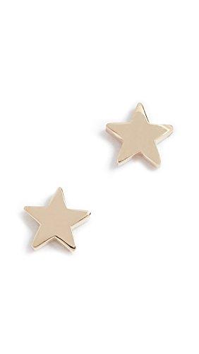 Jennifer Meyer Jewelry Women's 18k Gold Mini Star Stud Earrings, Gold, One Size ()