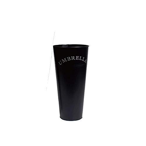 YHEGV Nordic Umbrella Stand Umbrella Barrel Conical Umbrella Rack Multi-Function Home Wrought Iron (Color : Black)