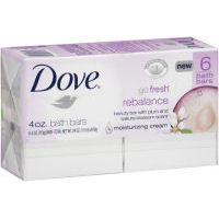 Dove go fresh Beauty Bars, Rebalance, 4 Ounce - 6 Each