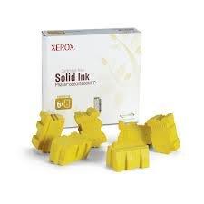 Xerox Tektronix Genuine Brand Name, OEM 108R00748 Yellow Solid Ink Sticks (6 per Box) (14K YLD) for Phaser 8860 Printers
