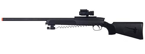 Rifle Sniper Bolt (Double Eagles Full Metal M50 Pro Version 3 Bolt Action Sniper Rifle (Black))
