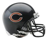 (NFL Chicago Bears Replica Mini Football Helmet)