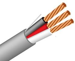 18/3 Awg 3 C Security Cable Non-Shielded CM/CMR/CL3R - Audio ...