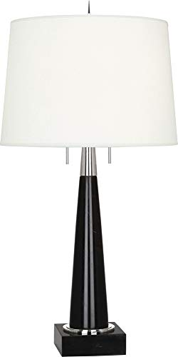 Robert Abbey Florence Black Marble Table Lamp