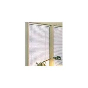 Achim Home Furnishings Morning Star 1-Inch Mini Blinds, 37 by 72-Inch, - Blinds 37 Window Wide