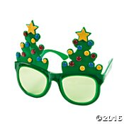 Oriental Trading Company Christmas Tree Sunglasses - Tree Sunglasses Christmas