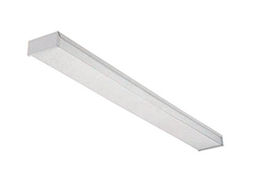 - Lithonia Lighting RB232 MV 4-Feet 2-Light 32W T8 Fluorescent Contractor Select Narrow Basket Multi-Volt Wraparound