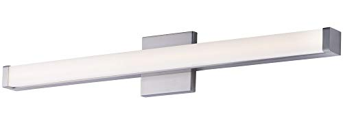 - Maxim Lighting 52004SN Signature LED 30 inch Satin Nickel Bath Vanity Wall Light