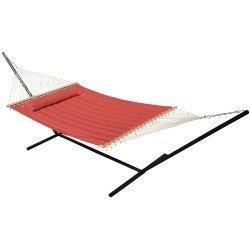 smart-garden-52325-bnp-monte-carlo-double-quilted-hammock-bossa-nova-red-reversible-design-allows-pl