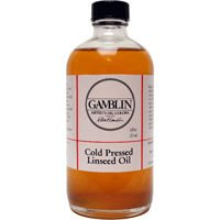 Cold Pressed Linseed Oil Size: 8 oz ()