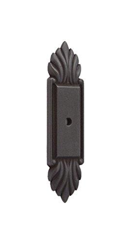Fiore Cabinet Backplate - Alno A1475-BRZ Fiore Traditional Backplates, Bronze