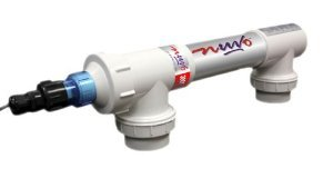 Nuvo trade; Ultraviolet Water Sterilizer for In-ground Swimming Pools