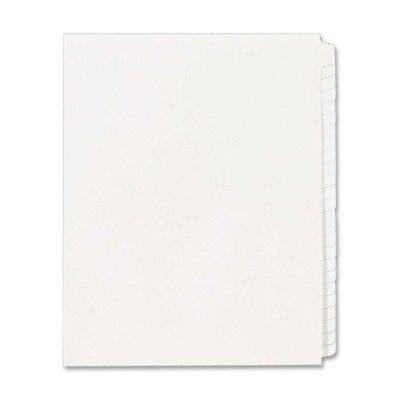(3 Pack Value Bundle) AVE11959 Blank Tab Legal Index Divider Set, 25-Tab, Letter, White, Set of 25