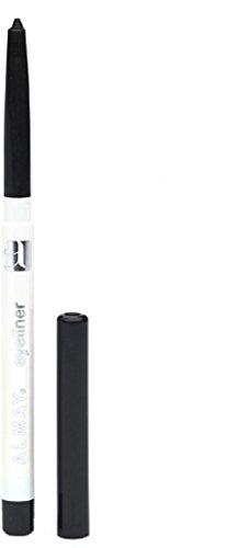 Almay Eyeliner with Built In Sharpener, Black 205, 0.01-Ounce Packages (Pack of 2) (Almay Eyeliner Pencil)