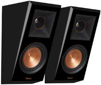 Klipsch RP-500SA Dolby Atmos Surround Sound Speakers (Piano Black)