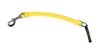 WACKYwalk'r X'Tension Flexible Leash Extension - Small - Yellow