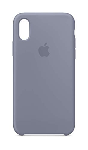 Apple Silicone Case (for iPhone Xs) - Lavender Gray