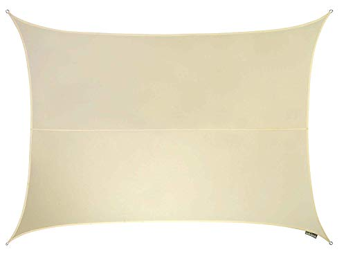 Kookaburra Waterproof Sun Sail Shade Ivory – 16ft 5 X 13ft 1 Rectangular
