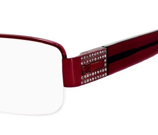 VALENTINO EYEGLASSES VAL 5601U/U 0VRM RED/RED - Crystal Valentino