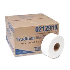 KIM02129CT - Kimberly-clark JRT Jr. Tradition Jumbo Roll Bathroom Tissue